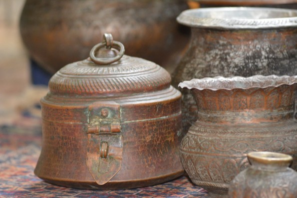 Kashmiri Copper Vessels