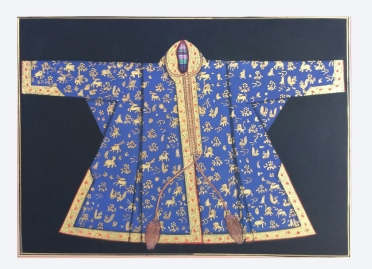 A Robe: Oil with Gold
