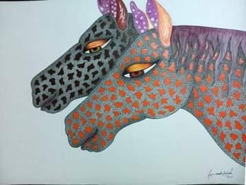 Two Horses: Godadh Art