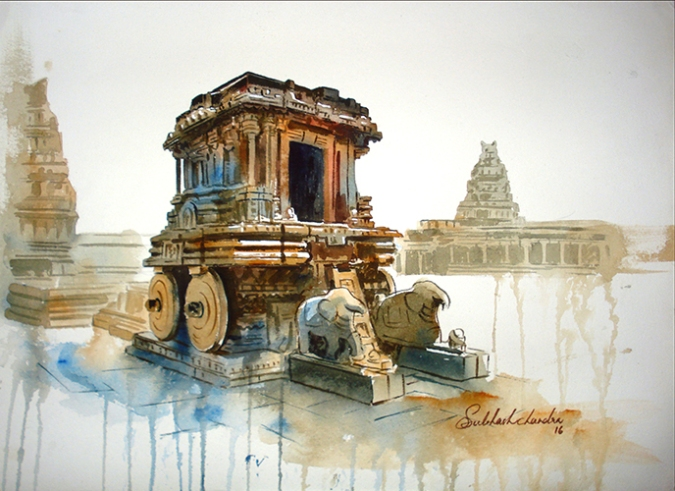 The Chariot Temple