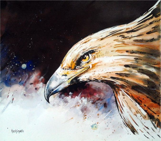 The Eagle Hovers