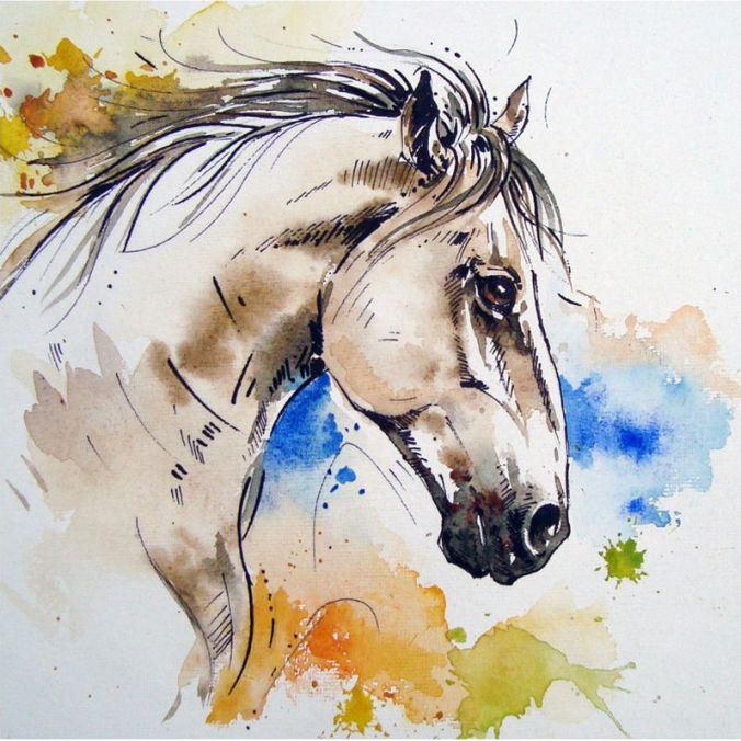 Ashwa-The White Stallion