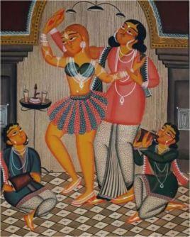 Kalighat Painting 10