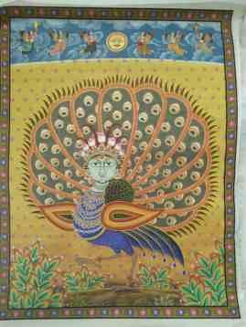 Mayur Pankh Mayur Pankh;Pichwai Painitng