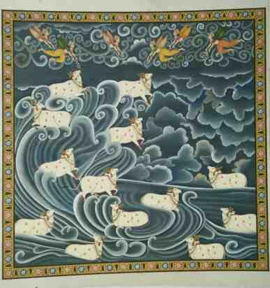 Prakriti Prakriti;Pichwai Painitng