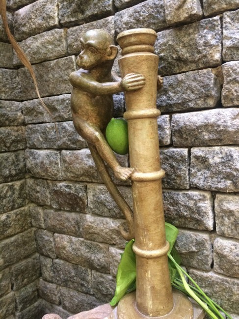 Monkey - Wood Work Tamil Nadu