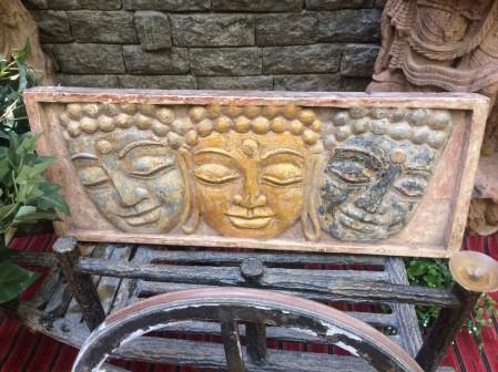 Buddha Panel - Wood Work Tamil Nadu