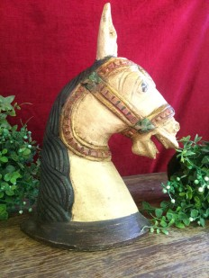 Horse - Wood Work Tamil Nadu