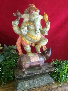 Ganesha - Wood Work Tamil Nadu