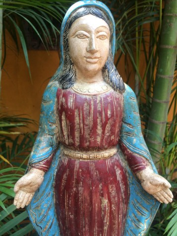 Mother Mary - Wood Work Tamil Nadu