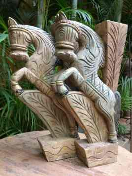 Horse Bracket - Wood Work Tamil Nadu