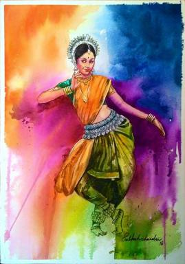 Meet-the-Master-Series-Shree-Subhash-Chandra-Gowda-Master-painter-in-Water-Colours-Karnataka-India-Aparna-Challu-jpg (1)