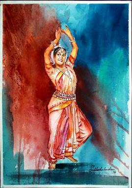 Meet-the-Master-Series-Shree-Subhash-Chandra-Gowda-Master-painter-in-Water-Colours-Karnataka-India-Aparna-Challu-jpg (2)