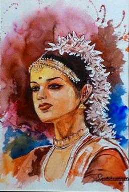 Meet-the-Master-Series-Shree-Subhash-Chandra-Gowda-Master-painter-in-Water-Colours-Karnataka-India-Aparna-Challu-jpg (3)