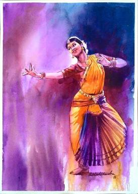 Meet-the-Master-Series-Shree-Subhash-Chandra-Gowda-Master-painter-in-Water-Colours-Karnataka-India-Aparna-Challu-jpg (4)