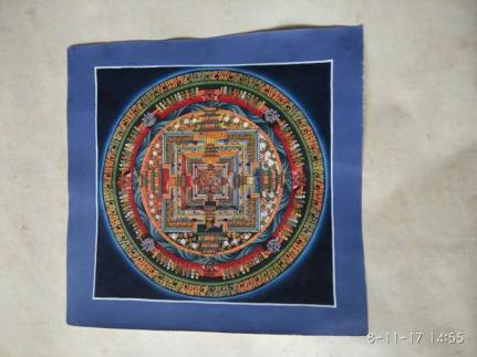 Meet-the-Master- Series -Shree- Surya Lama-Thangka- Buddhist- Painting- Dharamshala- India-Aparna-Challu-jpg (2)