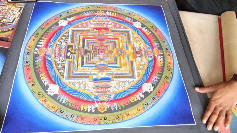 Meet-the-Master- Series -Shree- Surya Lama-Thangka- Buddhist- Painting- Dharamshala- India-Aparna-Challu-jpg (6)